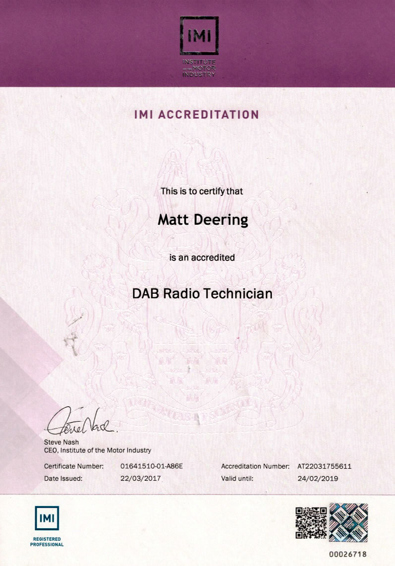IMI-accreditation-matt-deering