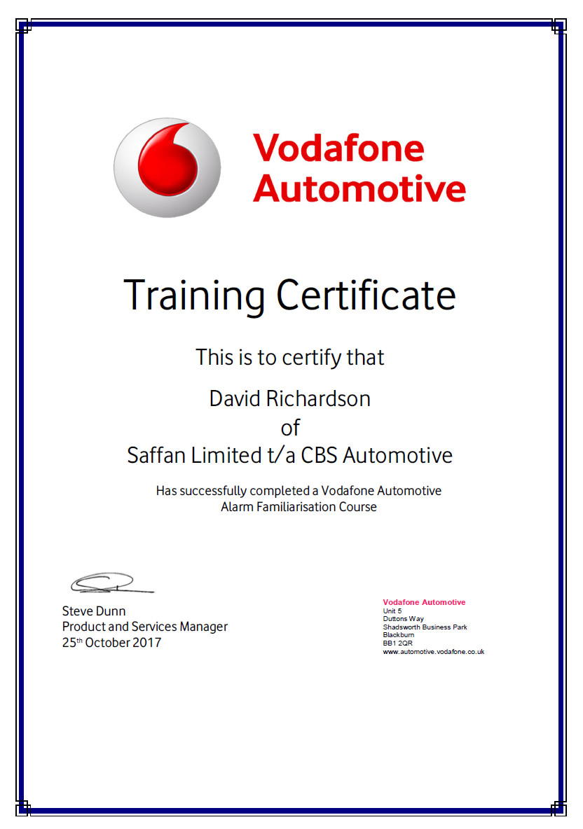 alarm-training-certificate-david-richardson