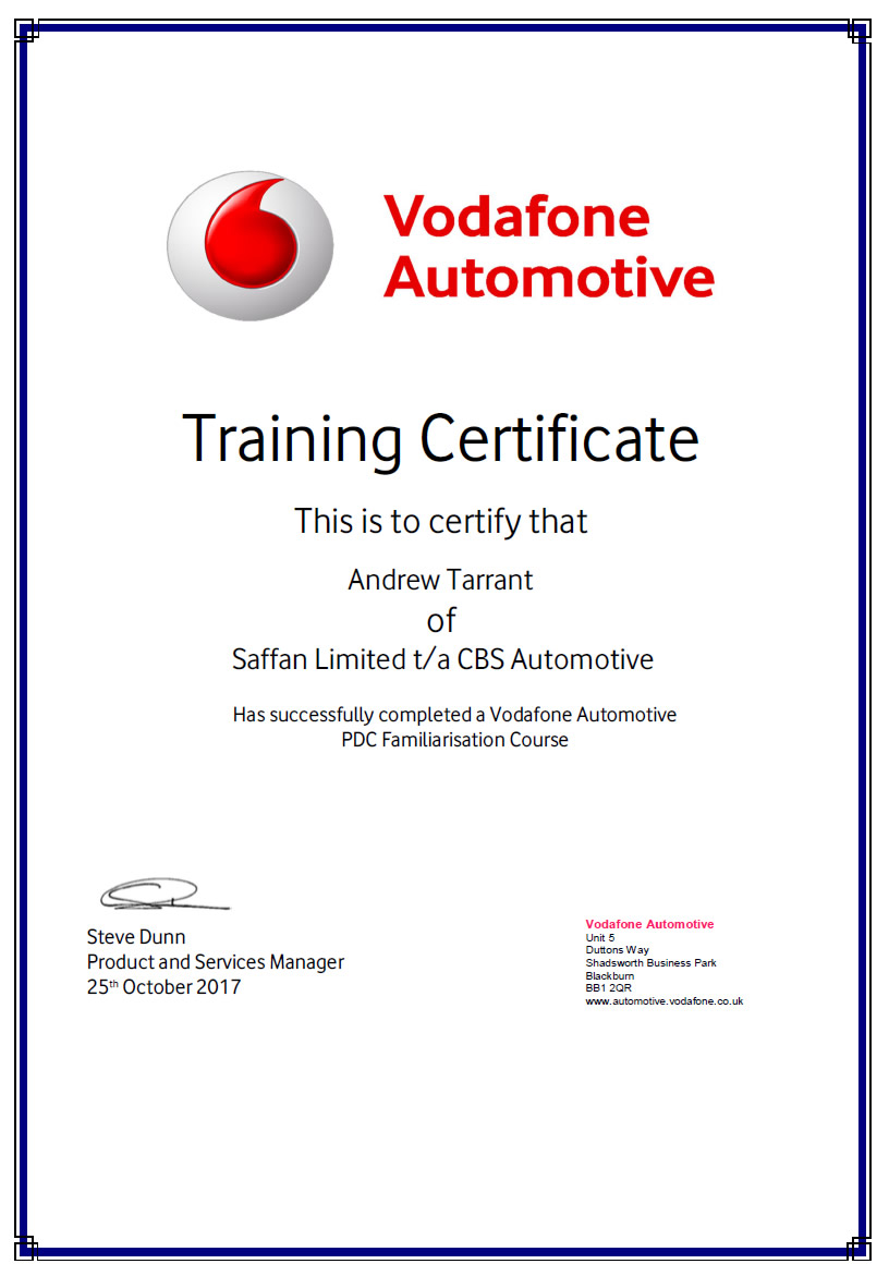 pdc-training-certificate-andrew-tarrant